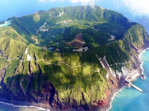 Pulau Aogashima, Pulau yang Mempunyai Gunung Berapi