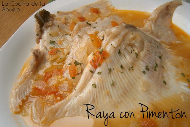 Raya con Pimentón