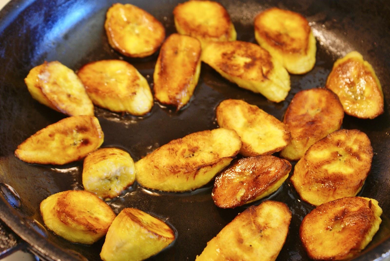 Sweet Fried Plantains (Platanos Maduros) Recipes — Dishmaps