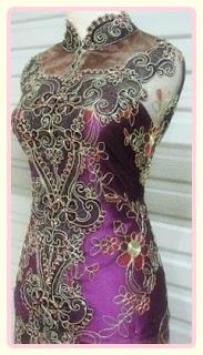 Model baju kebaya modern