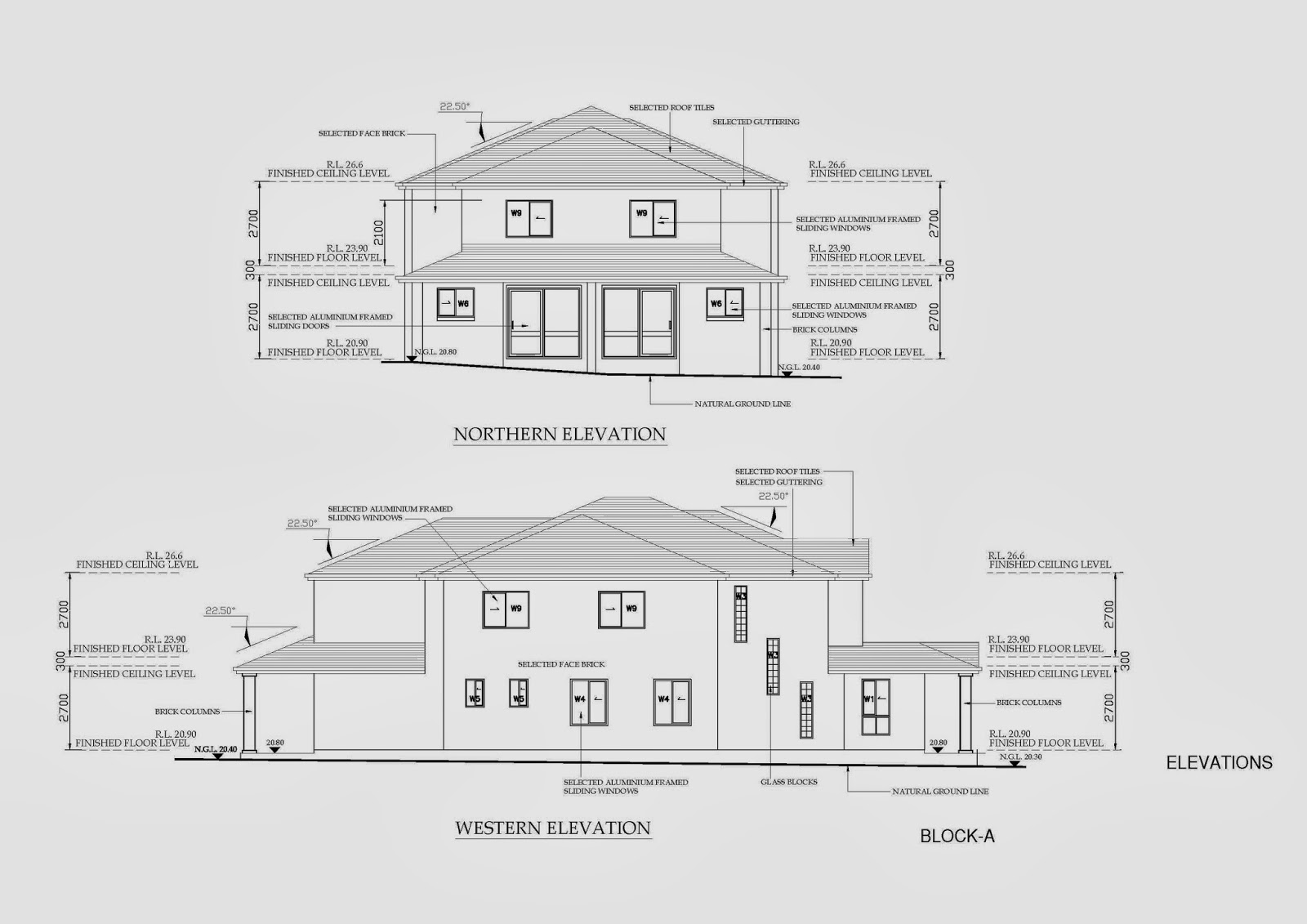 Australian architectural cad drafting project australian for Architectural site plan drawing