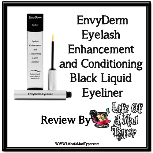EnvyDerm Eyelash Enhancement and Conditioning Black Liquid Eyeliner