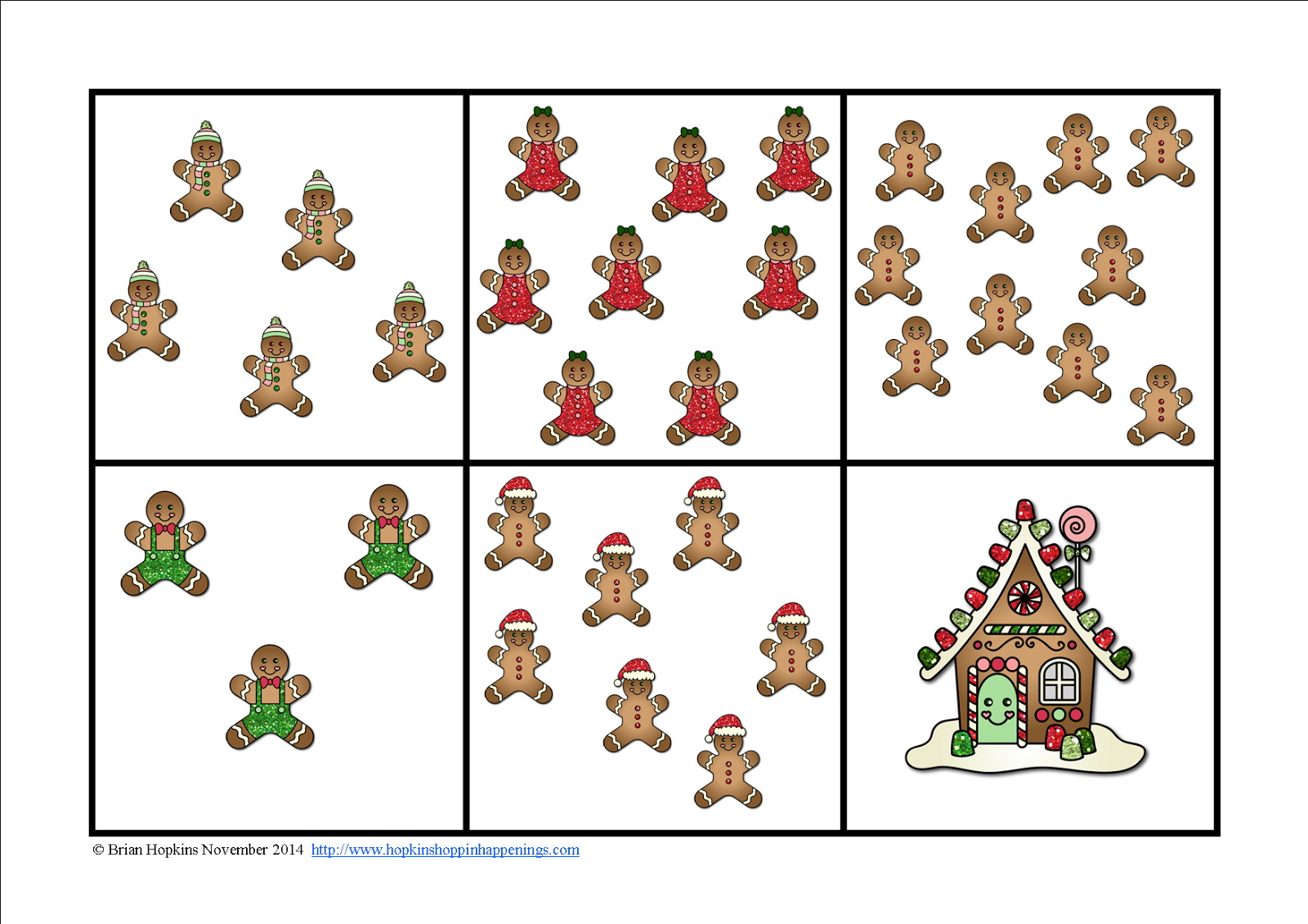 http://www.teacherspayteachers.com/Product/Gingerbread-Reading-and-Math-Centers-for-Kindergarten-1585460