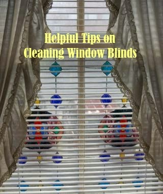 Helpful Tips on Cleaning Window Blinds