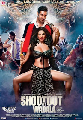 Hot poster of 'Shootout At Wadala' featuring John Abraham and Sunny Leone