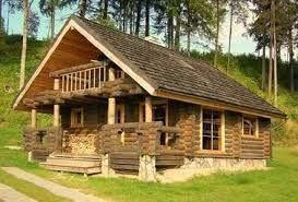 Lo posso fare case in legno for Case di tronchi con planimetrie seminterrato