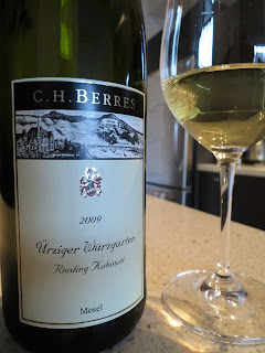 Wine Review of 2009 C.H. Berres Ürziger Würzgarten Riesling Kabinett from Mosel, Germany