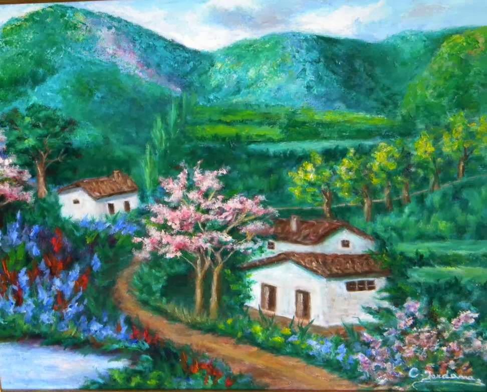 Una fuente junto al camino (Susana R. Miguélez)