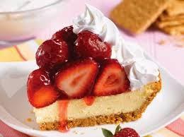 Pastel de queso y fresas para bajar de peso