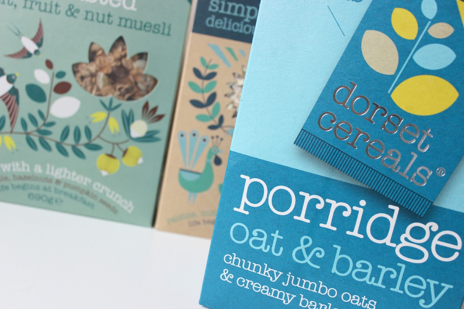 A picture of Dorset Cereals Oat & Barley Porridge Sachets