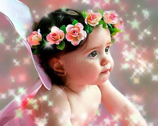 Baby Girl Wallpaper Nice Baby Images