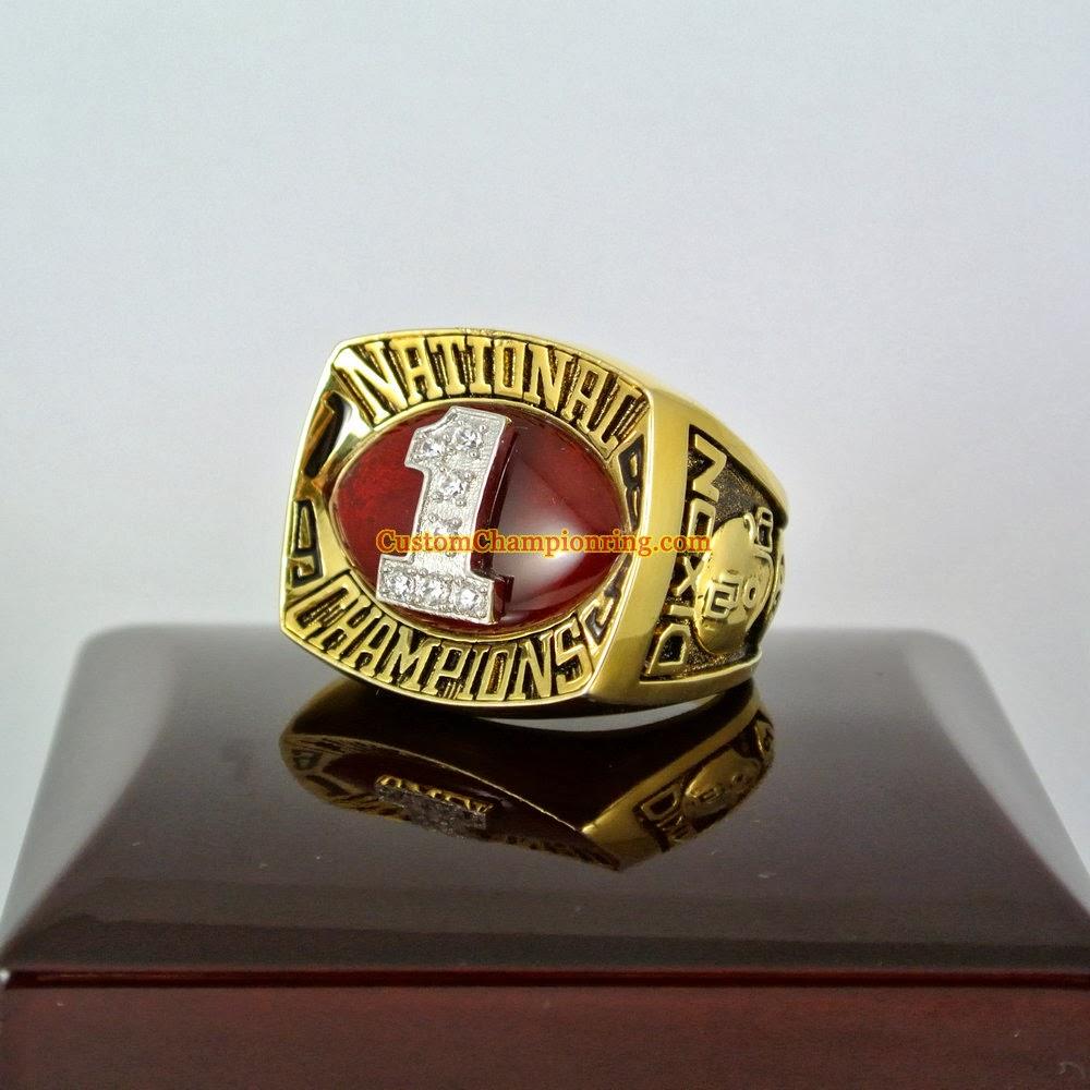 Custom Championship Rings: NCAA Championship Rings