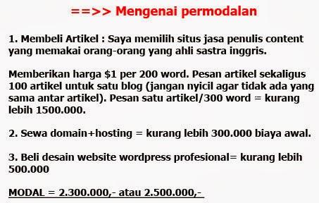 Bisnis Online Terpercaya, Bisnis Online Gratis, Bisnis Online