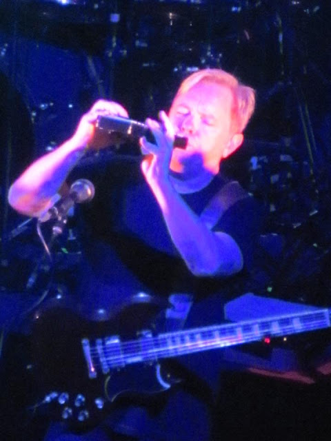 Bernard Sumner performs for Toronto New Order fans.