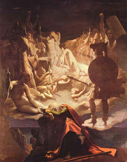 Ossian,Greek Painting,Ingres