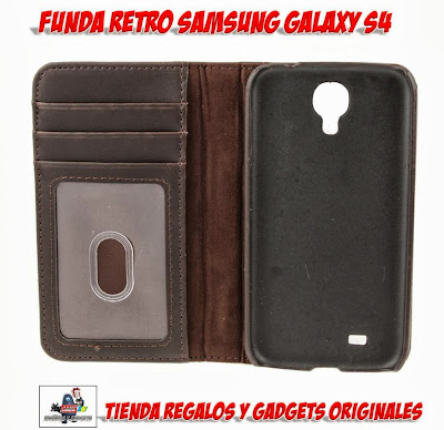 funda retro Samsung Galaxy S4