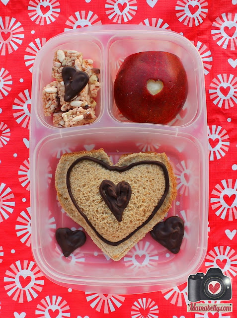 Valentine's School Lunch in Easylunchboxes - www.mamabelly.com