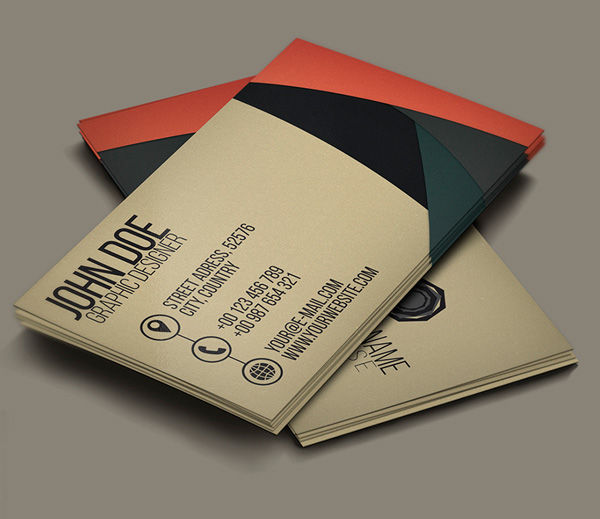 Free creative business card psd template freebies psd wajeb Image collections
