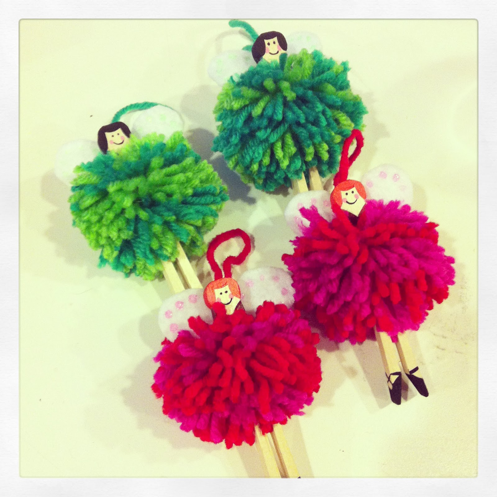 Fairy christmas ornaments - I Didn T Do Hardly Any Christmas Shopping This Year And Opted To Make Things For Friends And Family Instead In Addition To The Fairy Ornaments I Made Some