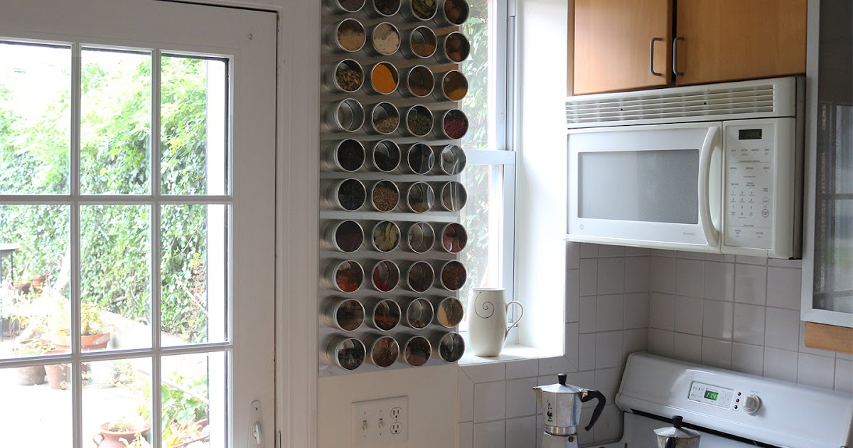 66 Square Feet Plus How To Make A Magnetic Spice Rack