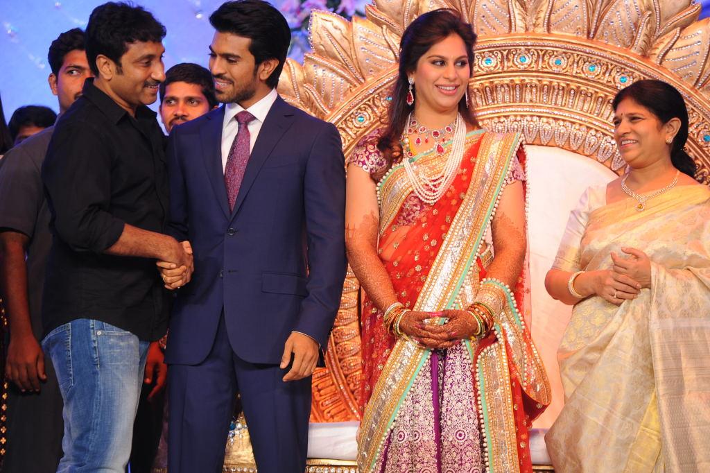 Ram Charan Wedding Reception Stills Ur Tamil Cinema
