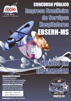 Apostila Concurso EBSERH HU/UFMS 2014 para técnico de enfermagem do HUMAP