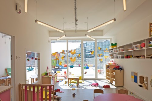 Giraffe Childcare Centre designed by Hondelatte Laporte Architects