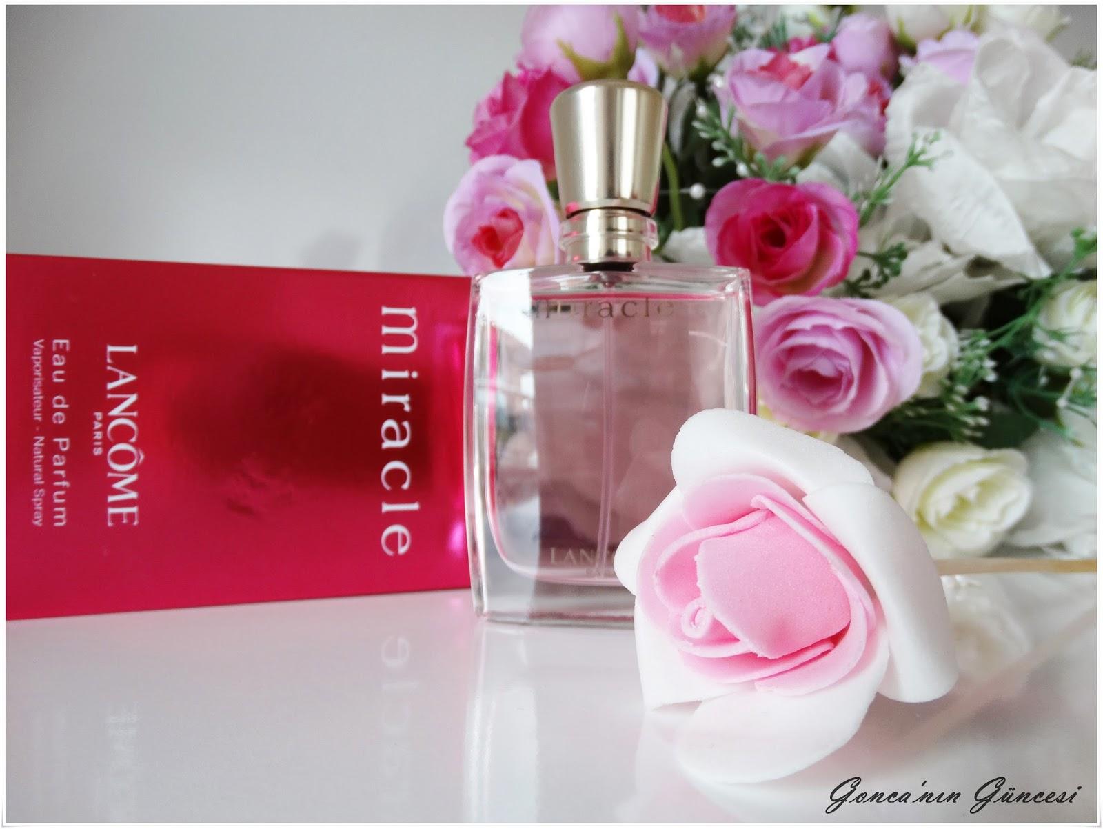 Lancome Paris Eau de Parfum // Miracle