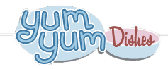 yum yum logo Luck of the Irish  Mommyhood Chronicles Yum Yum plates/bowls sets!
