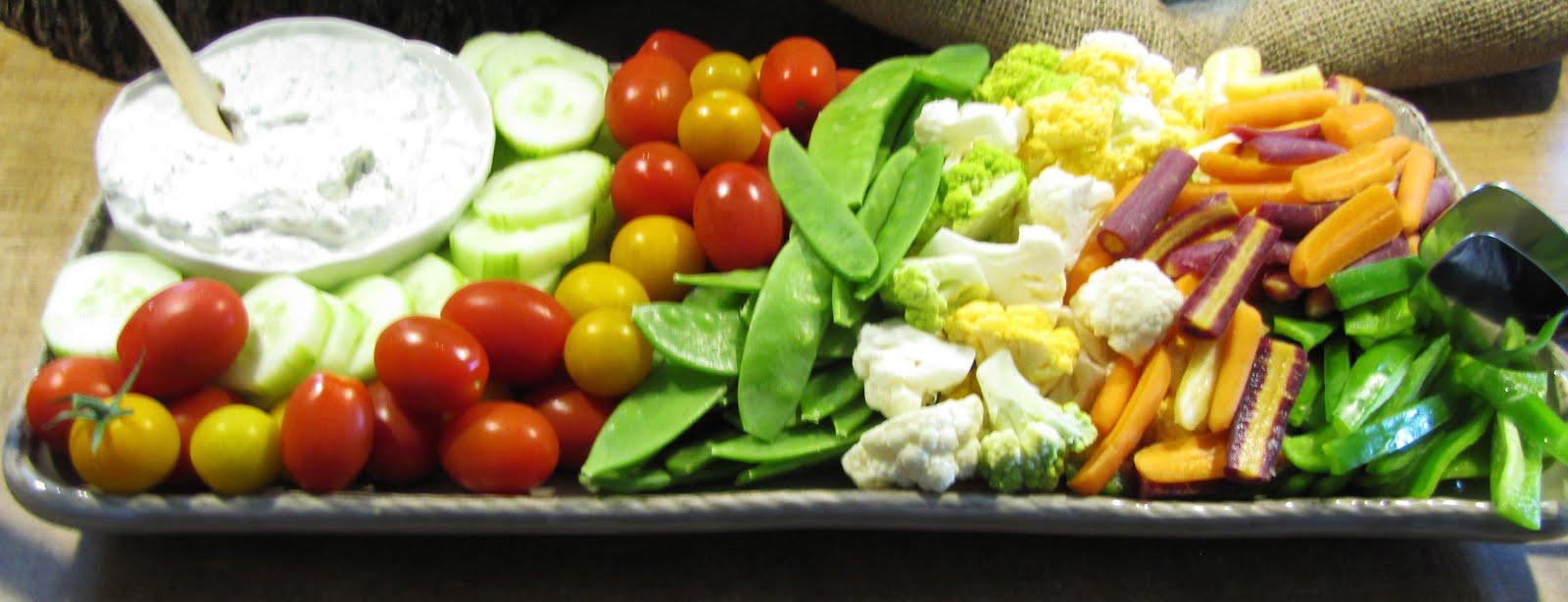 Fresh Vegetable Platter