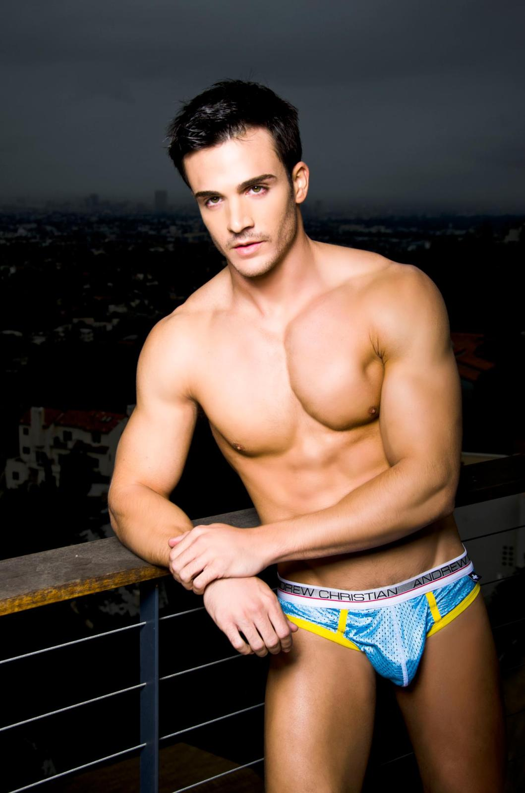 That interfere, Andrew christian underwear models male