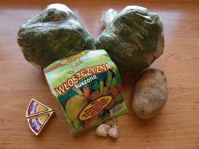 Krem brokułowy - składniki