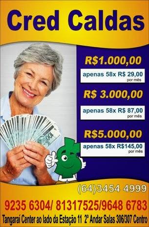CRÉDITO RÁPIDO E FÁCIL