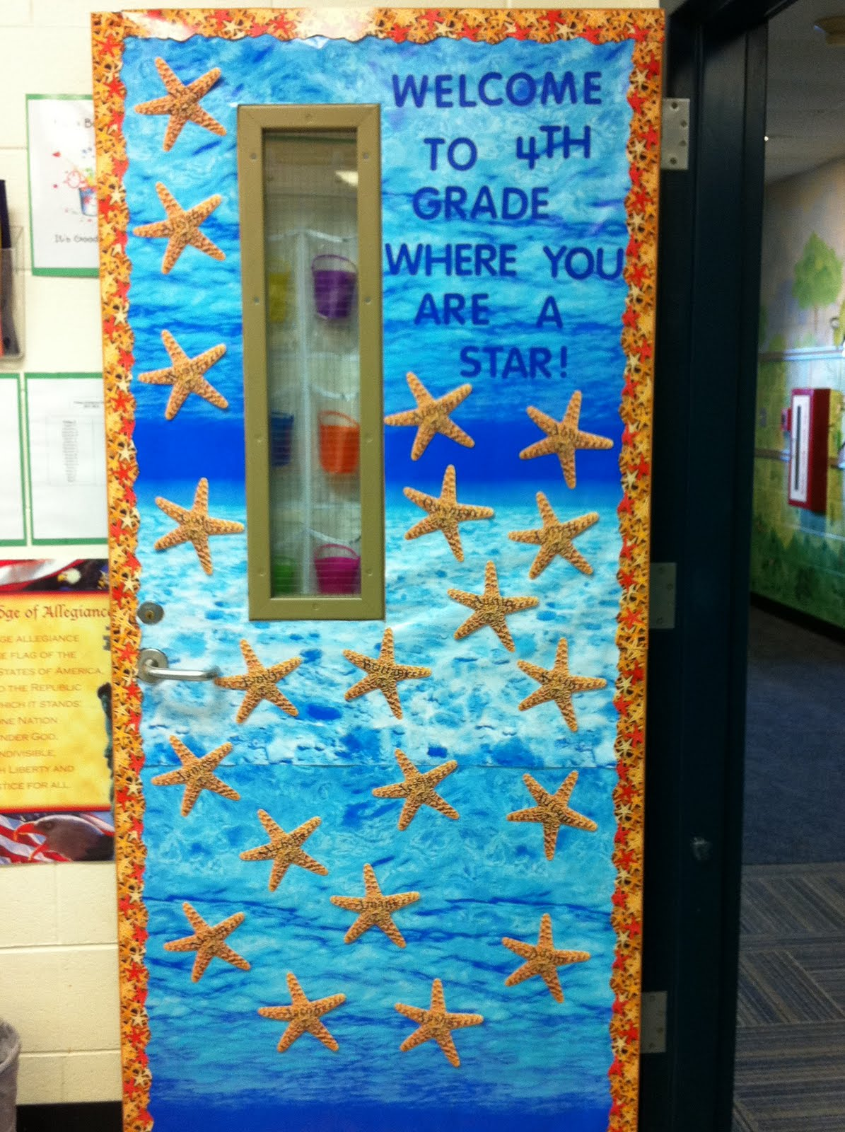 Classroom Beach Decor ~ For the love of teaching classroom tour