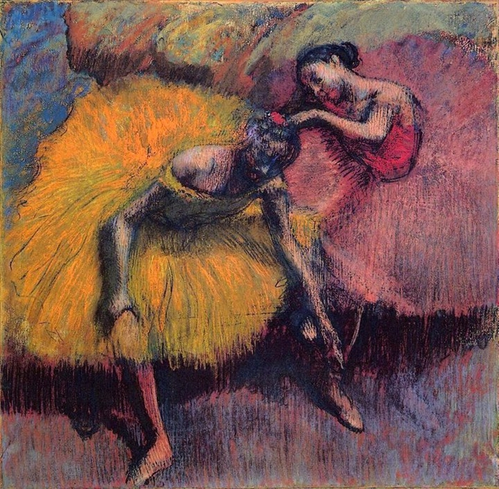 a biography of french artist edgar degas 1873, is the creation of french artist edgar degas, who died 100 years ago   degas's attraction to ballet was only natural his american-born.