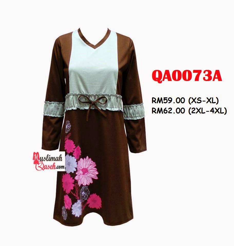 T-Shirt-Muslimah-Qaseh-QA0073A