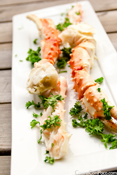 King Crab - Cangrejo Real Noruego - Receta