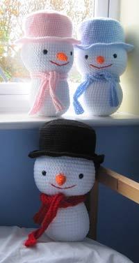 Snowman: free pattern