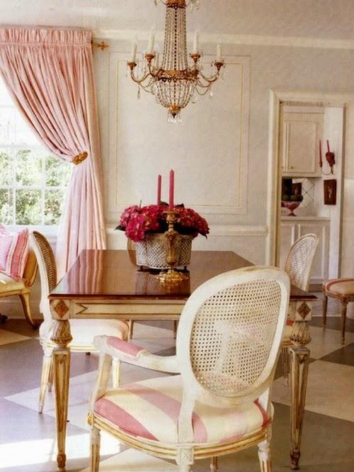 Decor Inspiration Powdery Pink Interior Decor