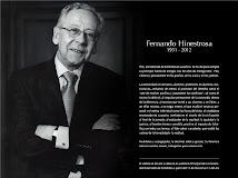 Señor Rector Fernando Hinestrosa Forero