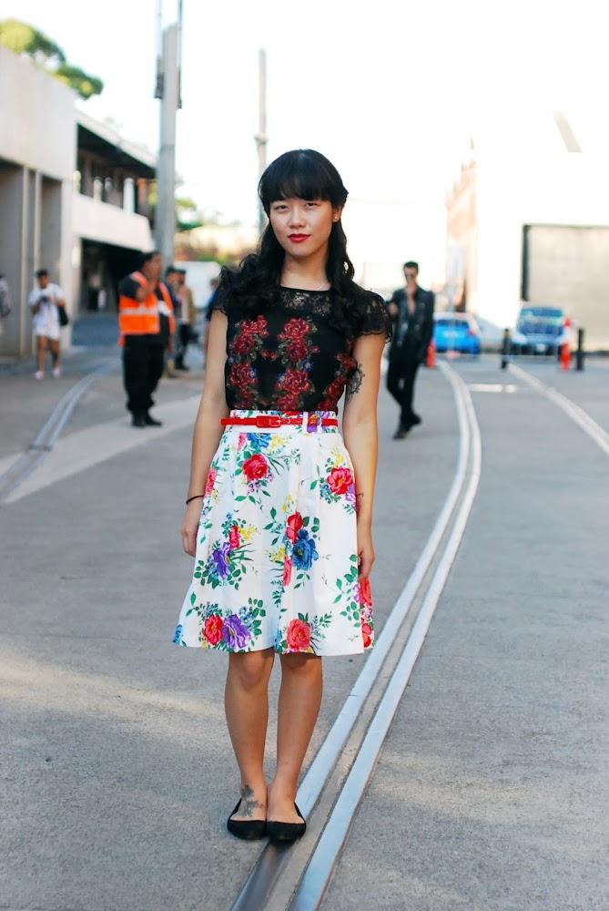 MBFWA 2013 Street Style Photography Sydney Blogger Margaret Ye