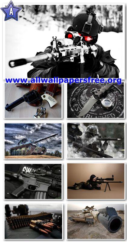 45 Amazing Guns Mixed Wallpapers  1920 X 1200