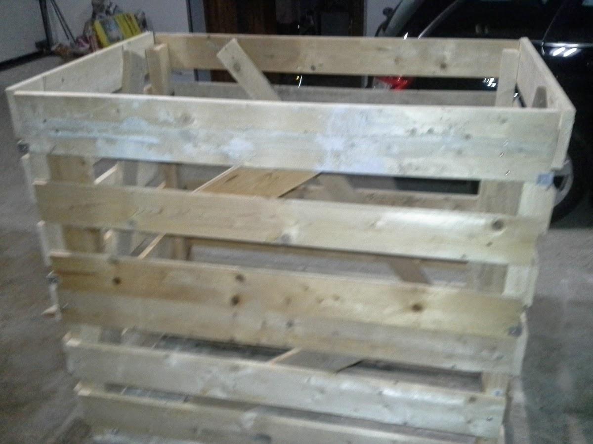 Cool Heizen mit Holz: Brennholzkiste selber bauen GG59