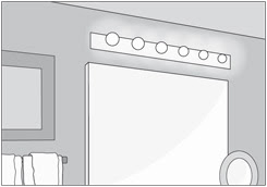 Planos Low Cost Iluminaci N En Ba Os Lighting In Bathrooms