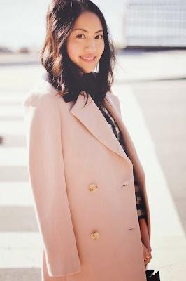 jcrew pink coat