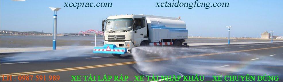 xe tai dongfeng, xe tải hyundai, xe chở rác
