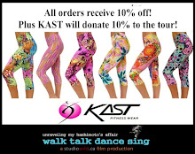 OUR TOUR SPONSOR! Use code: WalkTalkDanceSing at check out!