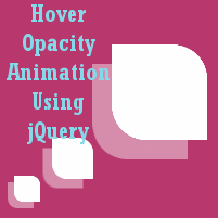 jQuery Hover Opacity Animation