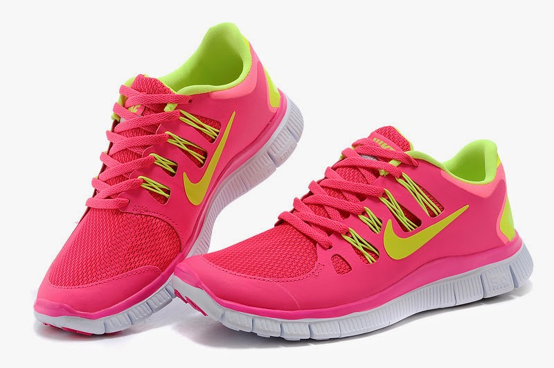 wholesale nike free 50 womens bright pink white running