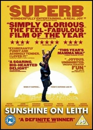 Póster de 'Amanece en Edimburgo' (Dexter Fletcher, 2013)
